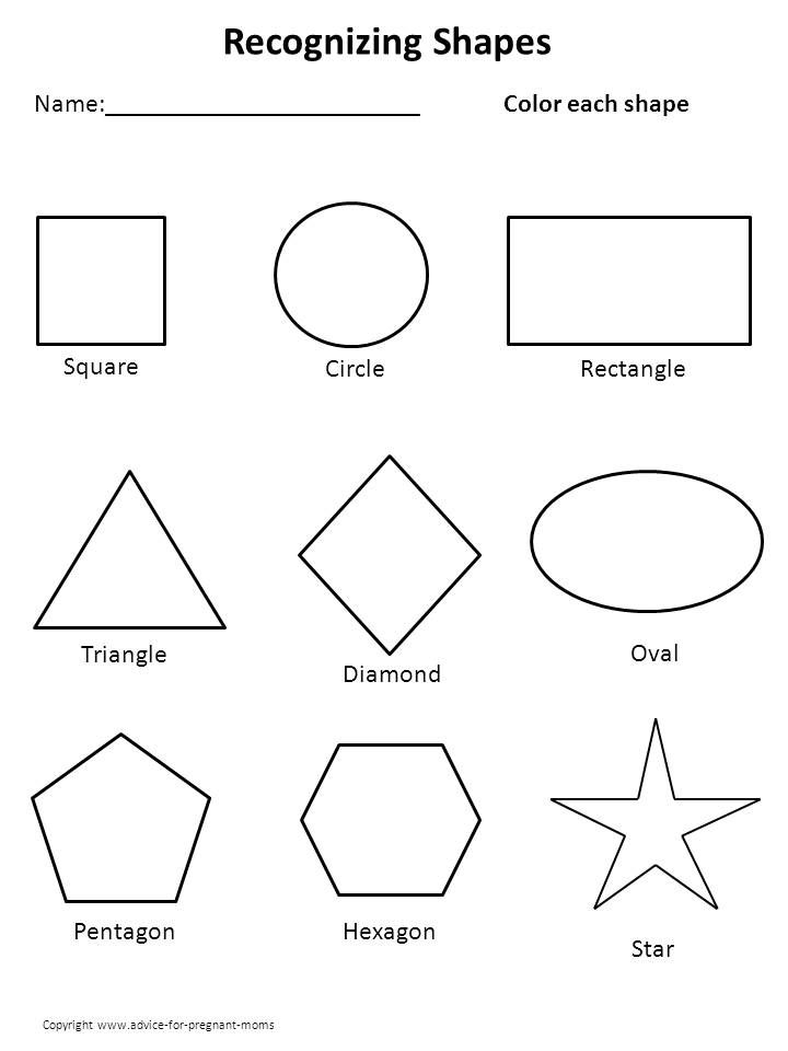 25+ best ideas about Learning shapes on Pinterest