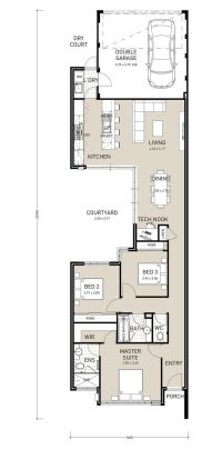 The 25+ best ideas about Narrow House Plans on Pinterest ...