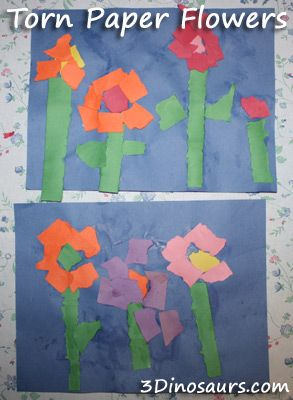 78 Best images about preschool flowers theme on Pinterest  Tissue paper Mothers day crafts and