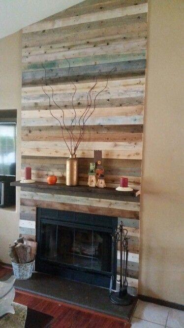 Best 25+ Pallet fireplace ideas on Pinterest