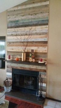 Best 25+ Pallet fireplace ideas on Pinterest