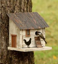 25+ best ideas about Rustic Birdhouses on Pinterest ...