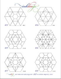 25+ best ideas about Hexagon quilting on Pinterest