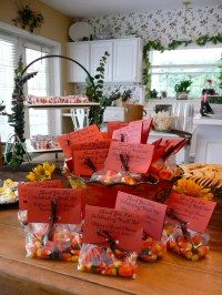 Fall Bridal Shower - Candy Corn Favors | Bridal shower ...