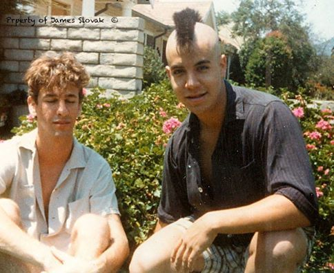 Hillel Slovak And Anthony Kiedis Red Hot Chili Peppers