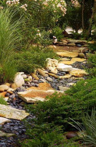 nicely waterless creek bed