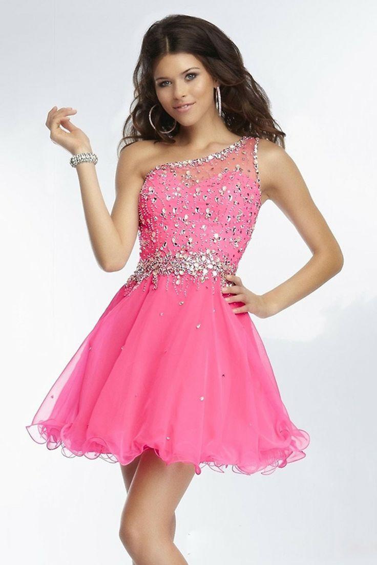 25 best Short Pink Prom Dresses trending ideas on Pinterest  Grade 8 grad dresses Teen