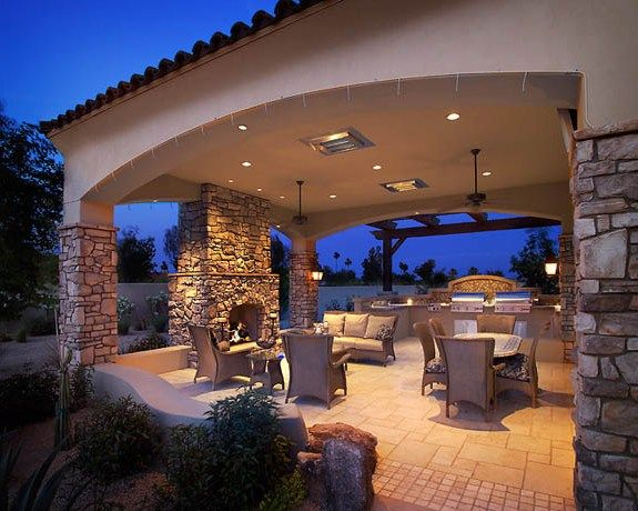 25 best ideas about Backyard covered patios on Pinterest