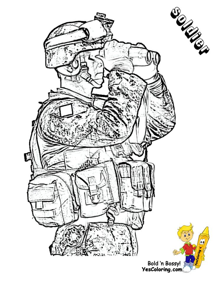 47 best images about Fearless Army Coloring Pages on