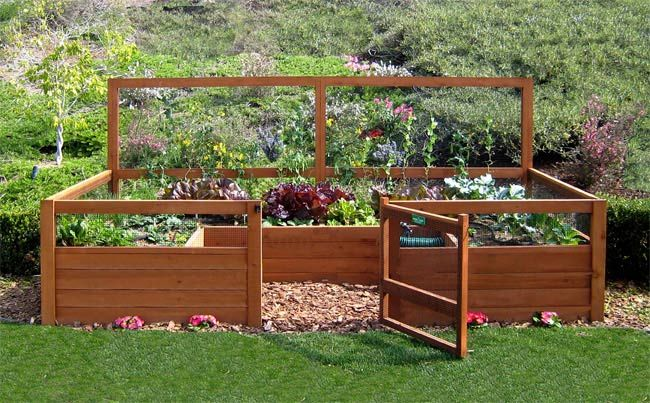 Triyae Com = Backyard Vegetable Garden Design Ideas Various