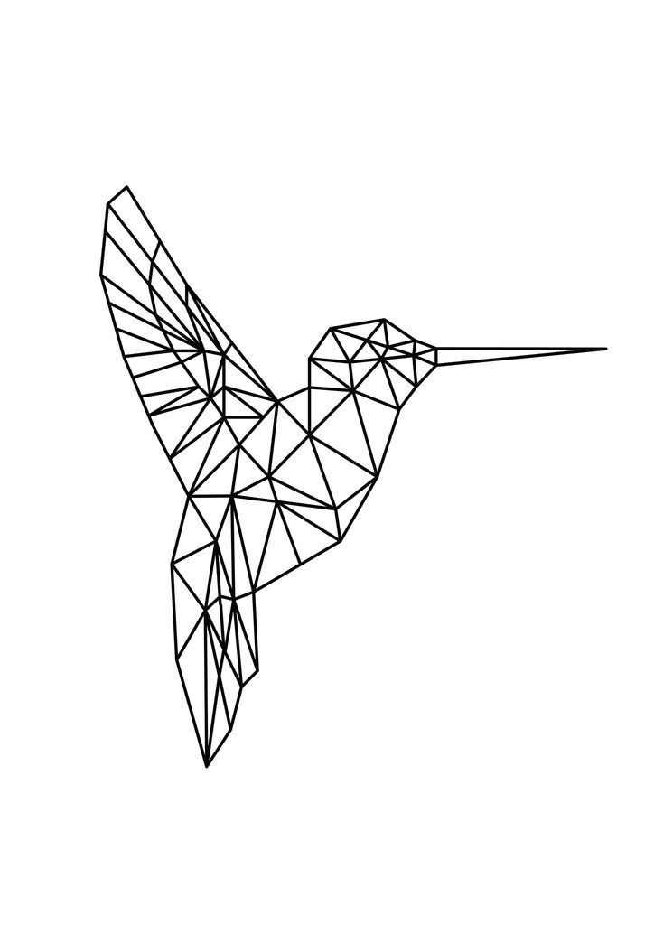 Best 25 Geometric Bird Ideas