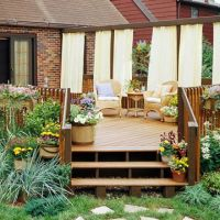 Privacy Solutions for Your Deck | Decks, Backyards and ...