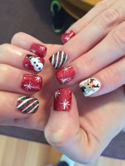 bioseaweed gel christmas nails
