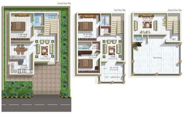 Modern Duplex House Design India