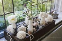 Bay window ledge decoration idea | wedding | Pinterest ...