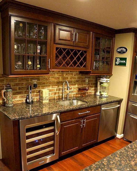 1000 ideas about Wet Bars on Pinterest  Wet bar basement