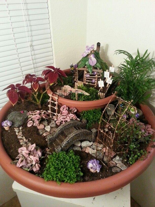 25 Best Ideas About Miniature Fairy Gardens On Pinterest