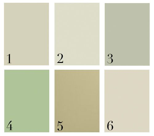 Great subtle greens 1 Benjamin Moore Guilford GreenHC