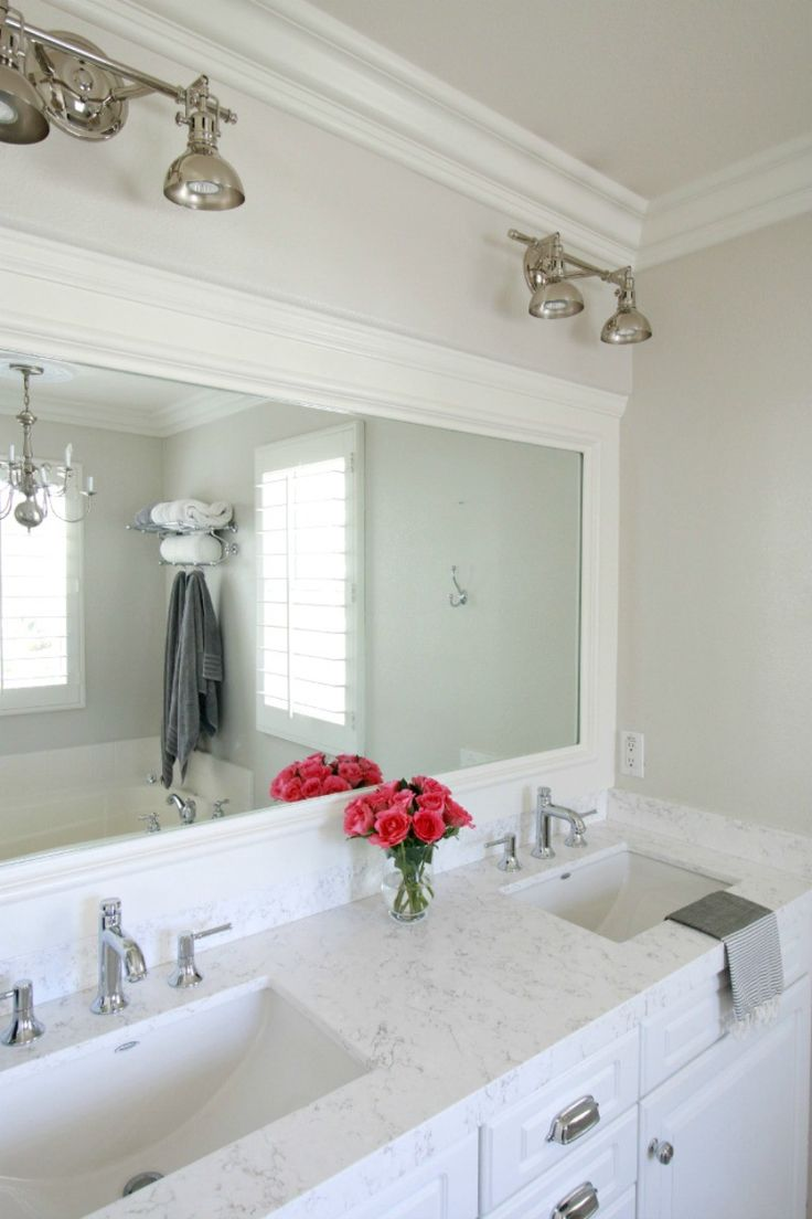 Best 25 Bathroom Countertops ideas on Pinterest  White bathroom cabinets Grey bathroom vanity