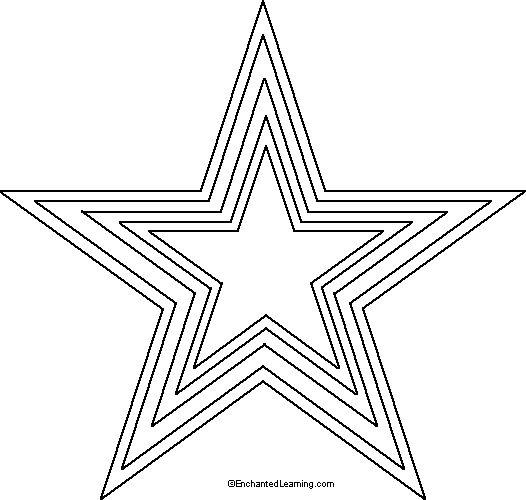 25+ best ideas about Star stencil on Pinterest