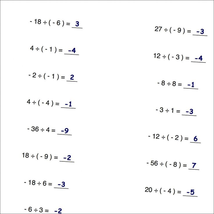 25+ best ideas about Negative numbers worksheet on