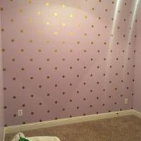 25+ Best Ideas about Gold Dot Wall on Pinterest | Polka ...