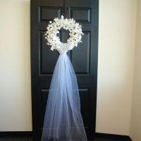 25+ best ideas about Wedding door wreaths on Pinterest