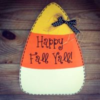 Candy corn, Doors and Candy on Pinterest