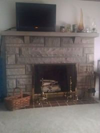 Need update ideas for Bedford stone fireplace | Ideas ...