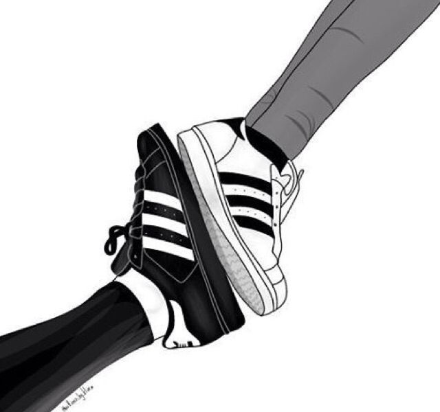 Adidas Outline Tumblr Boys Drawings