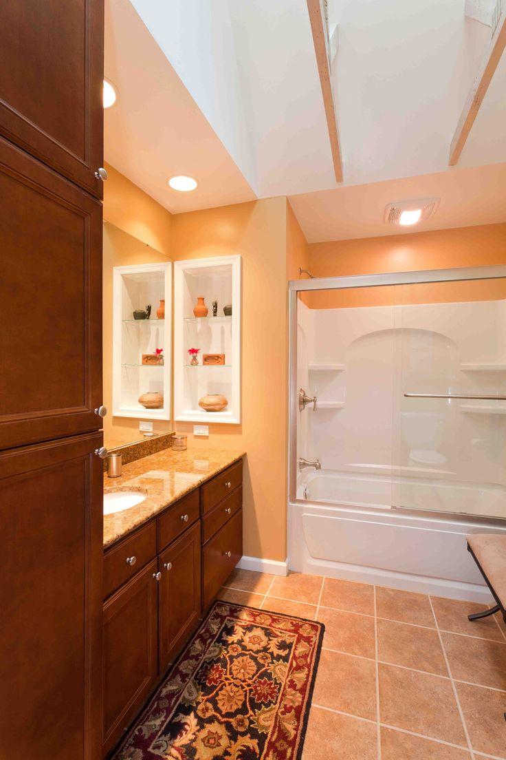 11 Best Images About Orange Bathrooms On Pinterest Oak