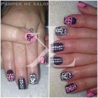 sons of anarchy nail art | Sons of Anarchy nail art by ...