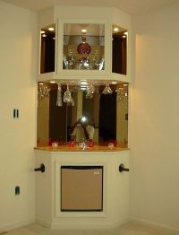 25+ best ideas about Corner Liquor Cabinet on Pinterest ...