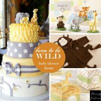 Baby Shower Theme Idea: Born To Be Wild | Baby shower ...
