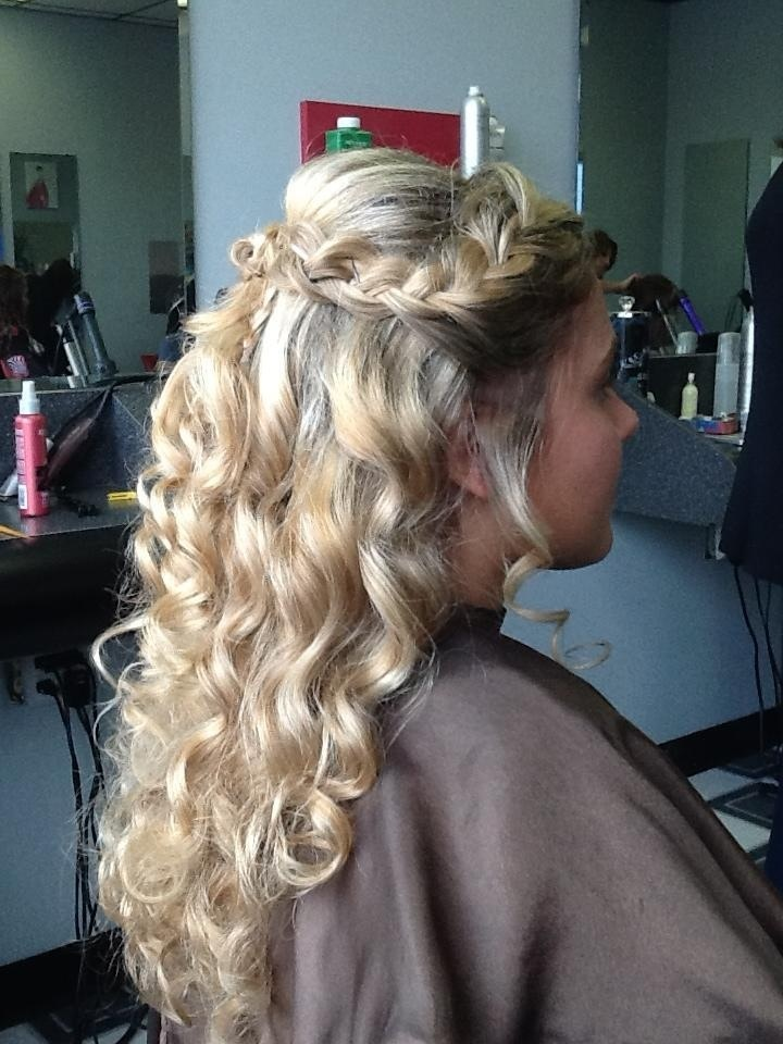 Prom Updo 2013 Half Up Braid And Curls Hair Is My
