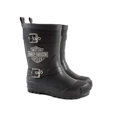 Details about Harley Davidson Youth Kids Black Matte