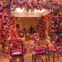 Pink Flowered Mandap Indian Wedding Decor Indian Mandap