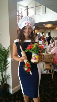Italian style cooking themed bridal shower   Flowers by ...