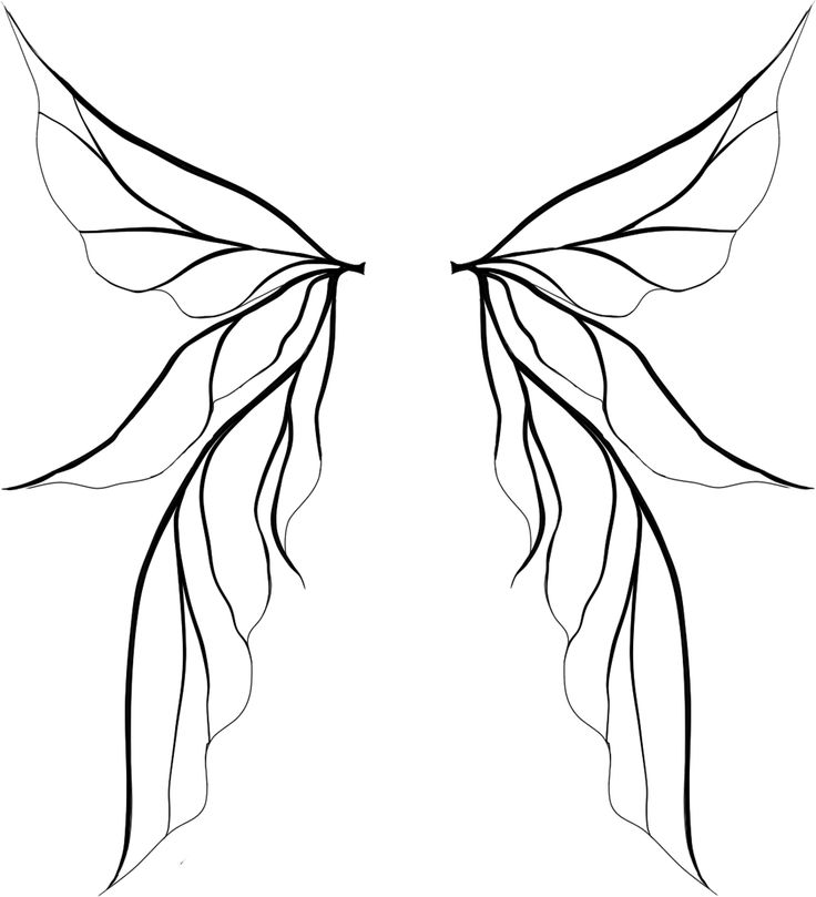 25+ best ideas about Fairy wing tattoos on Pinterest