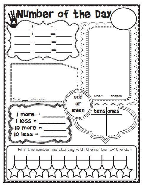 1000+ ideas about First Grade Calendar on Pinterest