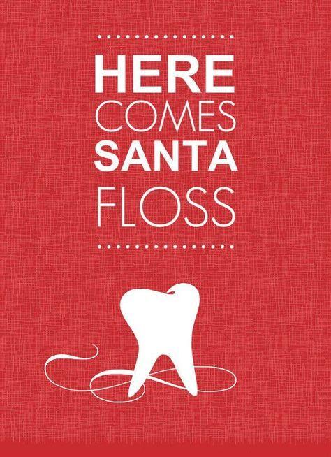 Here Comes Santa Floss Dentistry Dentaljokes Dentuit