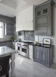 17 Best ideas about Gray Kitchen Cabinets on Pinterest ...