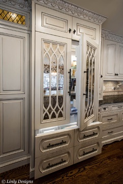kitchen design naperville corian countertops 1000+ images about mirrored cabinet doors on ...