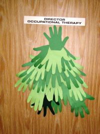 Hand tree - traced hands from our Occupational Therapy ...