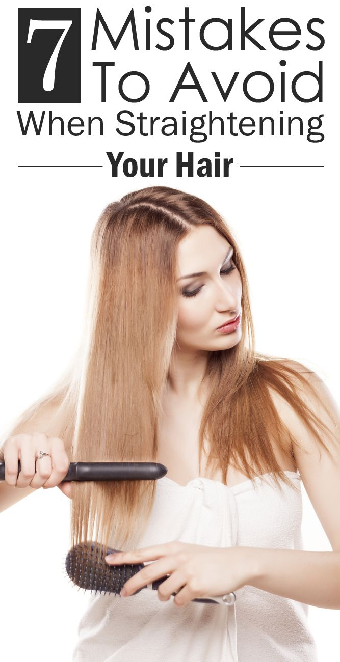 7 Mistakes Youre Probably Making When You Straighten Your