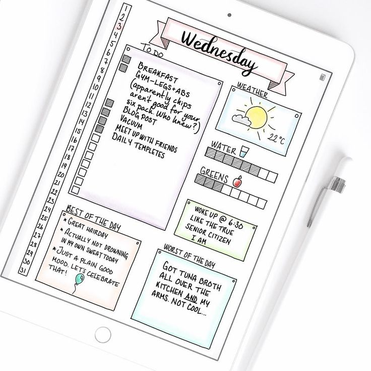 Best 25+ Daily planner pages ideas only on Pinterest