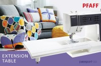 Extend your workspace! The PFAFF passport 2.0 Extension ...