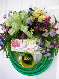 17 Best images about GARDEN HOSE WREATHS By Fun Florals On ...