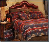 Socorro Southwestern Rustic Cal. King Bedspread | Wooded ...