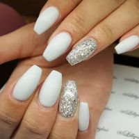 25+ Best Ideas about Grey Matte Nails on Pinterest | Matt ...